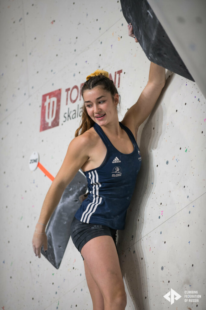 Lily Abriat en demi-finale