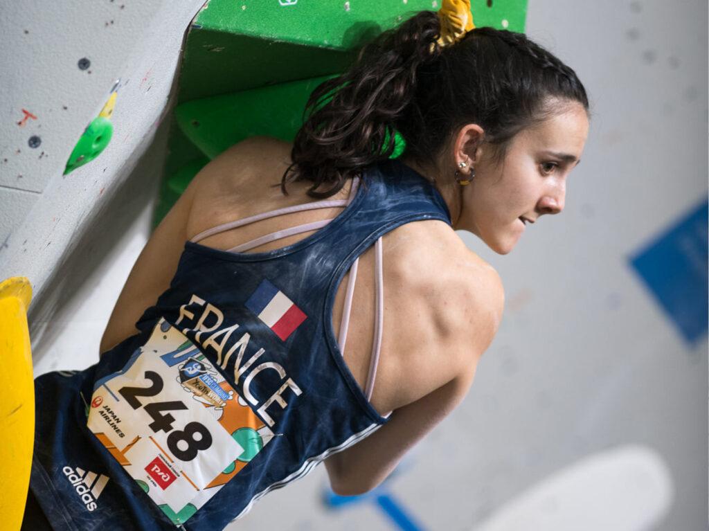 Zélia Avezou championne du monde