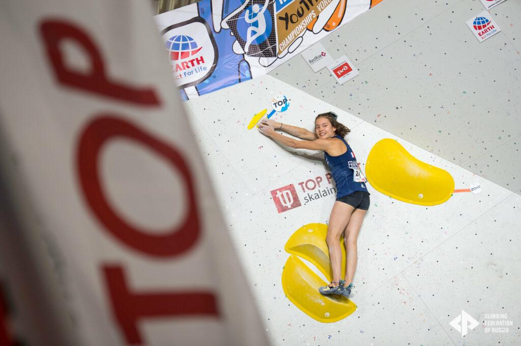 Meije Lerondel vice-championne du monde